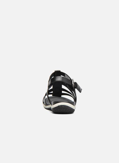 Sandali e scarpe aperte Geox D SAND.VEGA A D72R6A Nero immagine destra