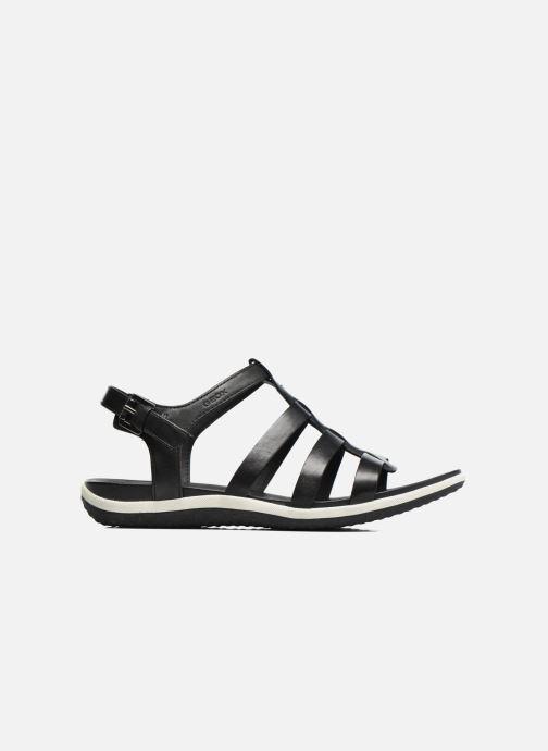 Sandales et nu-pieds Geox D SAND.VEGA A D72R6A Noir vue derrière
