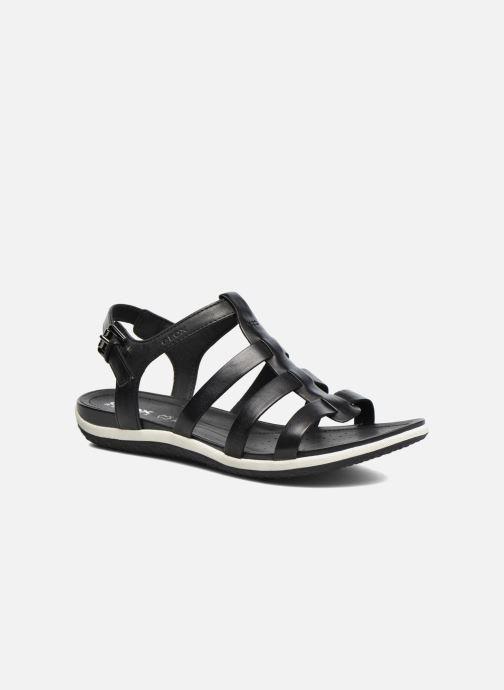 Sandales et nu-pieds Geox D SAND.VEGA A D72R6A Noir vue détail/paire