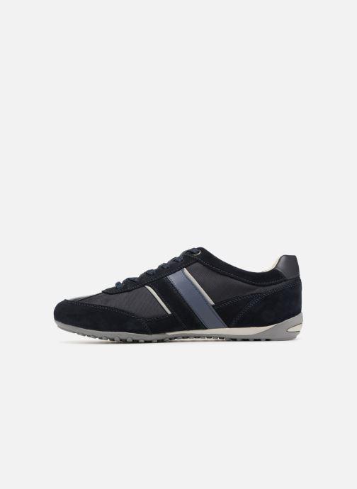 Sneaker Geox U WELLS C U52T5C blau ansicht von vorne