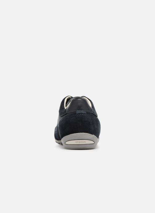 Sneakers Geox U WELLS C U52T5C Azzurro immagine destra