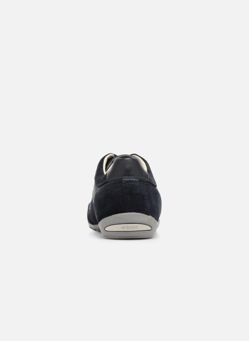 Sneaker Geox U WELLS C U52T5C blau ansicht von rechts