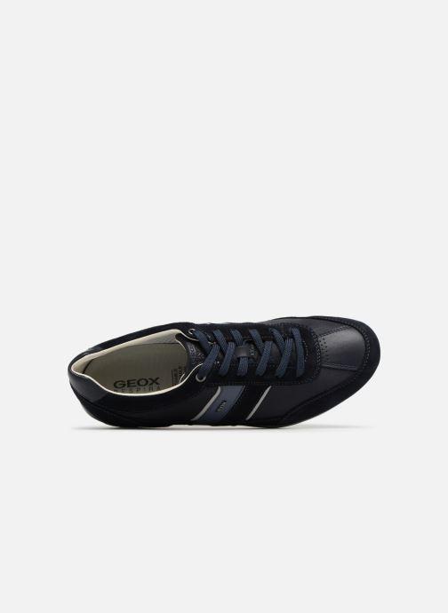Sneaker Geox U WELLS C U52T5C blau ansicht von links