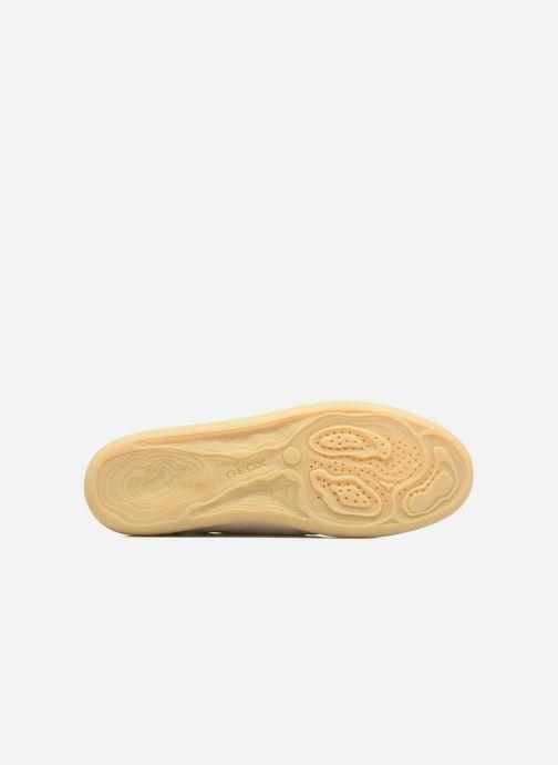 Sneakers Geox U NEW DO B U620QB Bianco immagine dall'alto