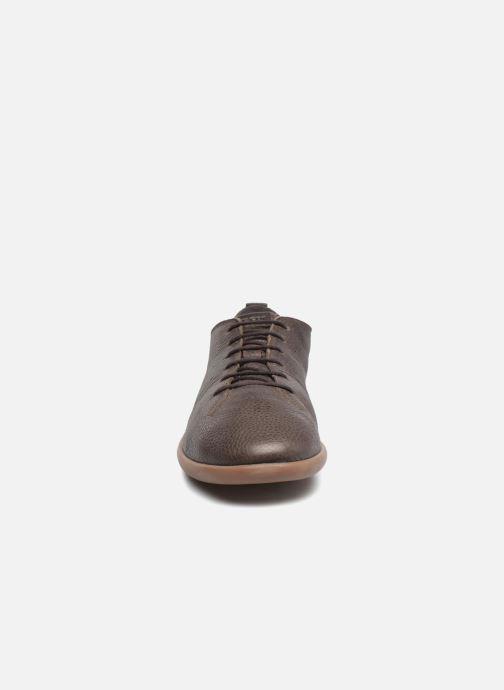 Sneaker Geox U NEW DO B U620QB braun schuhe getragen