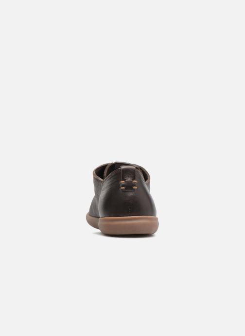 Sneaker Geox U NEW DO B U620QB braun ansicht von rechts
