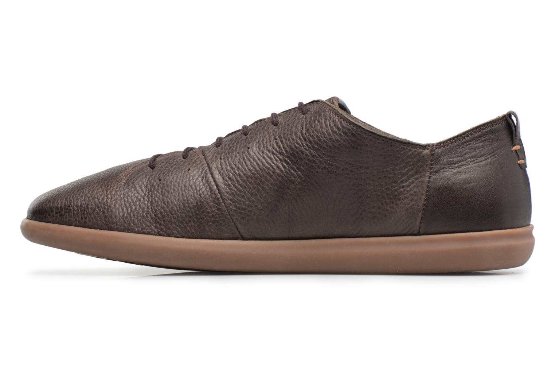 Sneaker Geox U NEW DO B U620QB braun ansicht von vorne