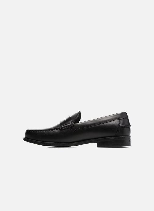 Loafers Geox U NEW DAMON B U641ZB Sort se forfra