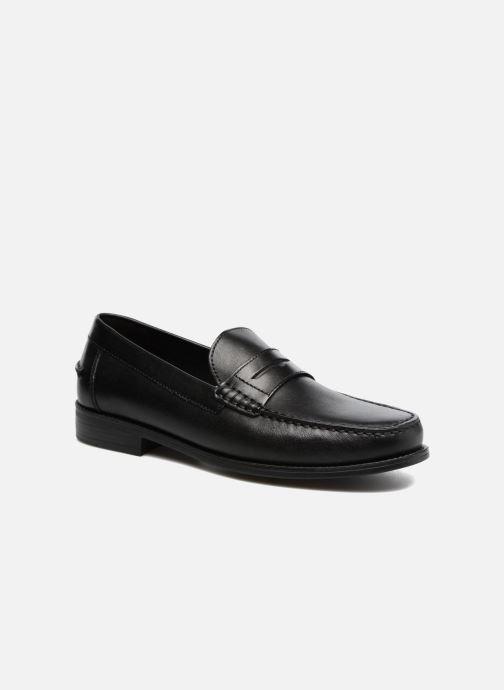 Loafers Geox U NEW DAMON B U641ZB Sort detaljeret billede af skoene