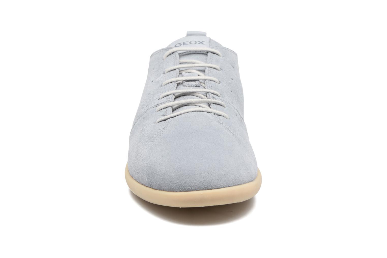 Sneakers Geox U NEW DO C U720QC Azzurro modello indossato