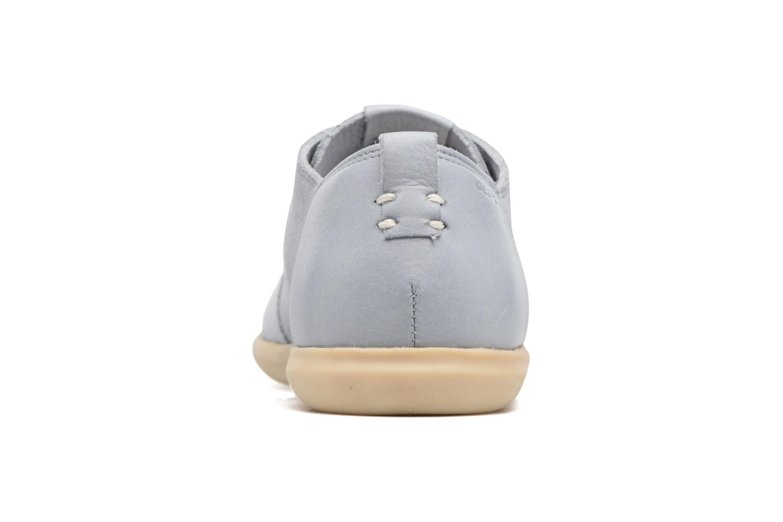 Sneakers Geox U NEW DO C U720QC Azzurro immagine destra