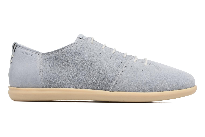 Sneakers Geox U NEW DO C U720QC Azzurro immagine posteriore