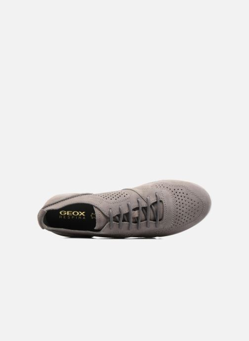 Sneaker Geox U BRATTLEY A U721PA grau ansicht von links