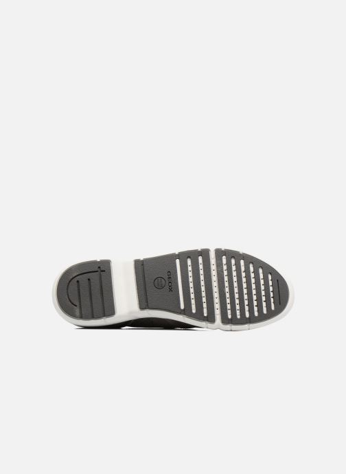 Sneaker Geox U BRATTLEY A U721PA grau ansicht von oben