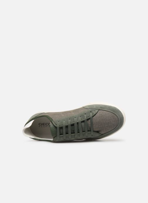 Trainers Geox U WALEE A U722CA Green view from the left