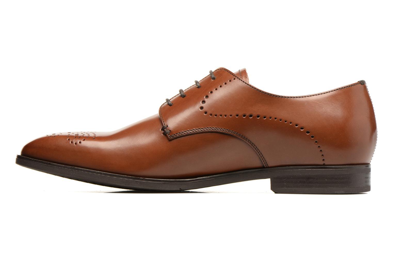 Chaussures à lacets Geox U NEW LIFE A U72P4A Marron vue face