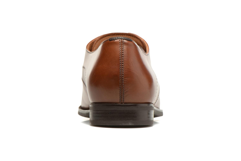 Chaussures à lacets Geox U NEW LIFE A U72P4A Marron vue droite