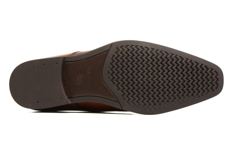 Chaussures à lacets Geox U NEW LIFE A U72P4A Marron vue haut