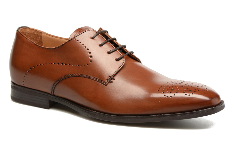 Chaussures à lacets Geox U NEW LIFE A U72P4A Marron vue détail/paire
