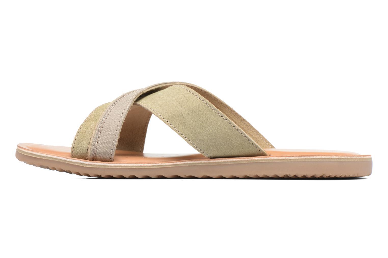 Sandales et nu-pieds Geox U ARTIE D U72V1D Beige vue face