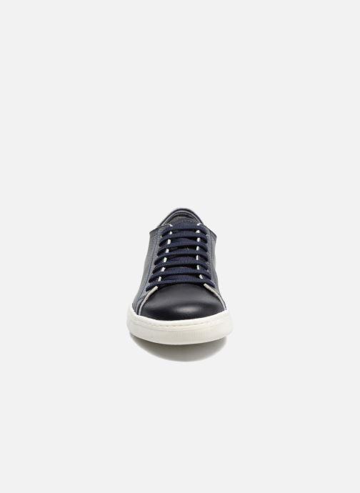 Sneaker Geox U RICKY B U72W1B blau schuhe getragen