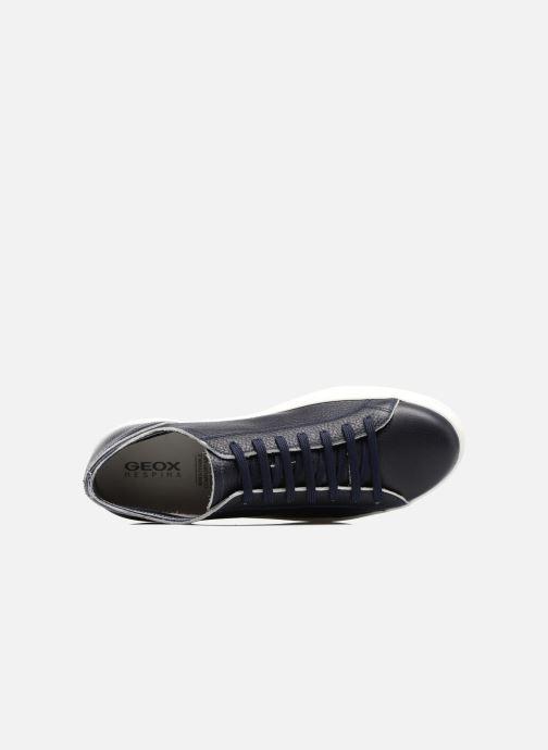 Sneaker Geox U RICKY B U72W1B blau ansicht von links