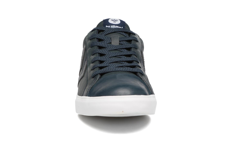 Baskets Hummel Baseline Court Noir vue portées chaussures
