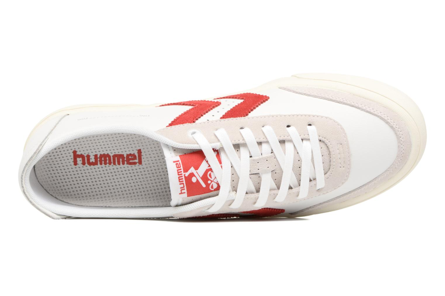 Baskets Hummel Stockholm Low Blanc vue gauche