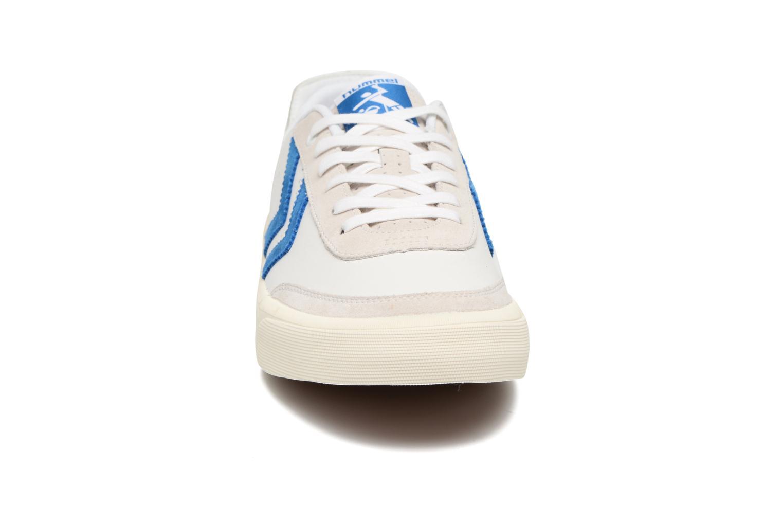 Baskets Hummel Stockholm Low Blanc vue portées chaussures
