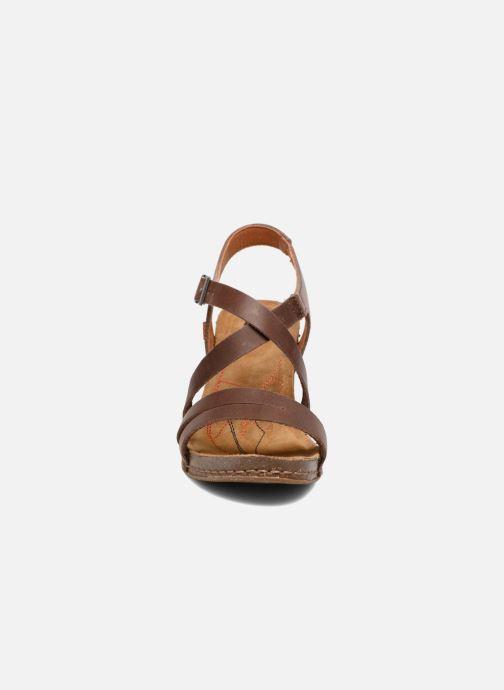 Sandales et nu-pieds Art I Meet 146 Marron vue portées chaussures
