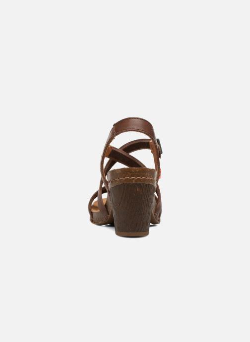 Sandales et nu-pieds Art I Meet 146 Marron vue droite