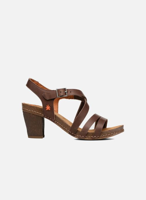 Sandales et nu-pieds Art I Meet 146 Marron vue derrière