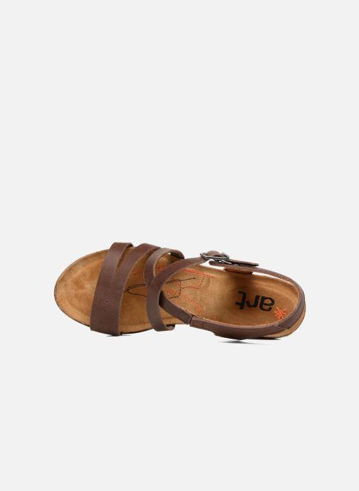 Sandales et nu-pieds Art I Meet 146 Marron vue gauche