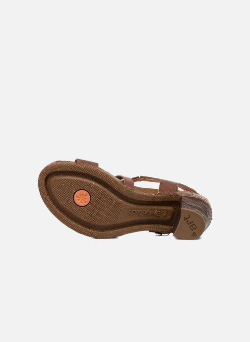 Sandales et nu-pieds Art I Meet 146 Marron vue haut