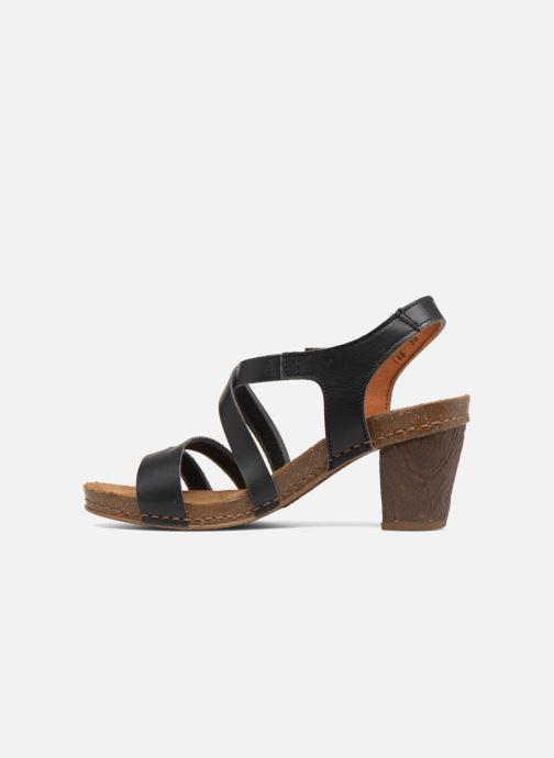 Sandalen Art I Meet 146 schwarz ansicht von vorne