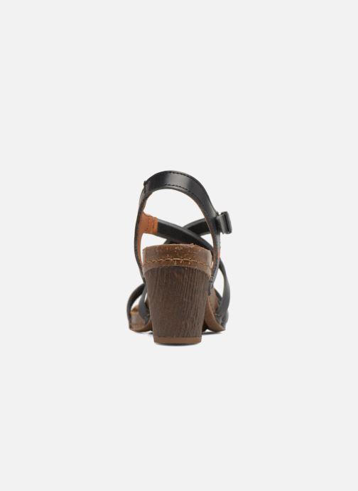 Sandales et nu-pieds Art I Meet 146 Noir vue droite