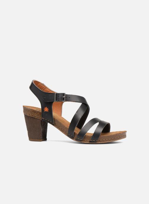 Sandales et nu-pieds Art I Meet 146 Noir vue derrière