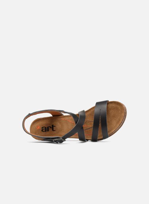Sandales et nu-pieds Art I Meet 146 Noir vue gauche