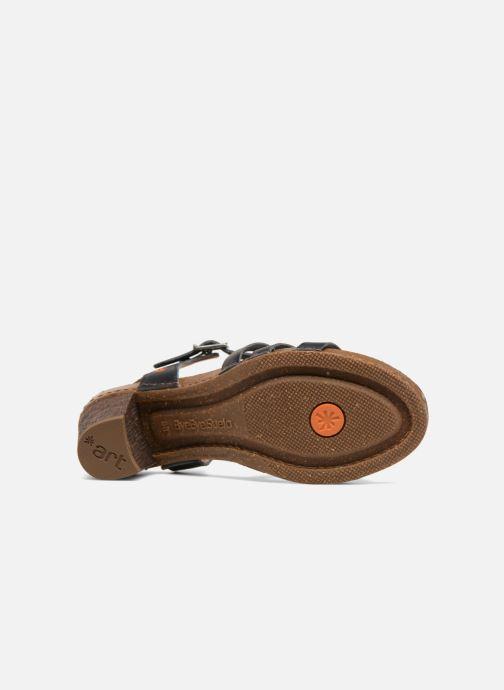 Sandales et nu-pieds Art I Meet 146 Noir vue haut
