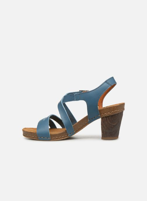 Sandales et nu-pieds Art I Meet 146 Bleu vue face
