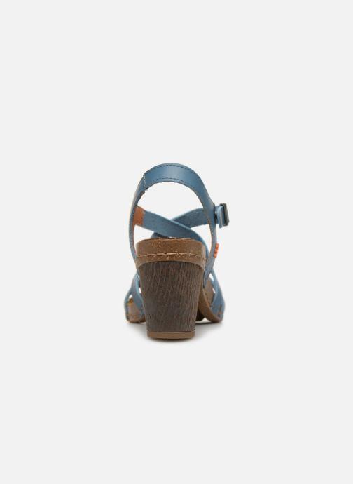 Sandales et nu-pieds Art I Meet 146 Bleu vue droite