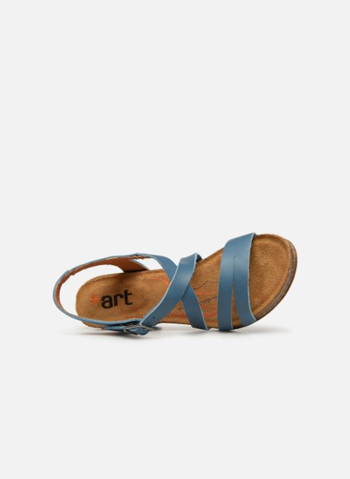 Sandales et nu-pieds Art I Meet 146 Bleu vue gauche