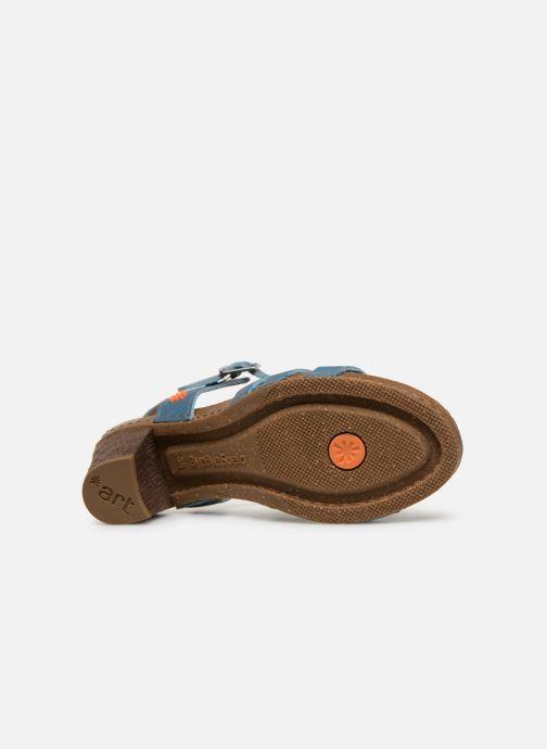 Sandales et nu-pieds Art I Meet 146 Bleu vue haut