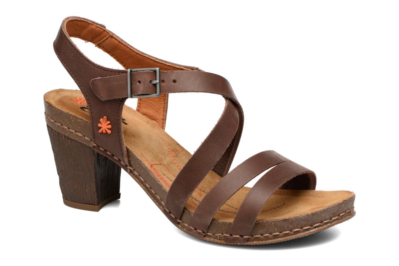 Sandales et nu-pieds Art I Meet 146 Marron vue détail/paire