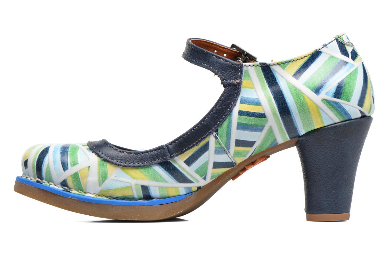 High heels Art St. Tropez 1070 Multicolor front view