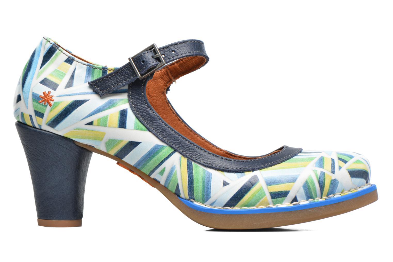 High heels Art St. Tropez 1070 Multicolor back view