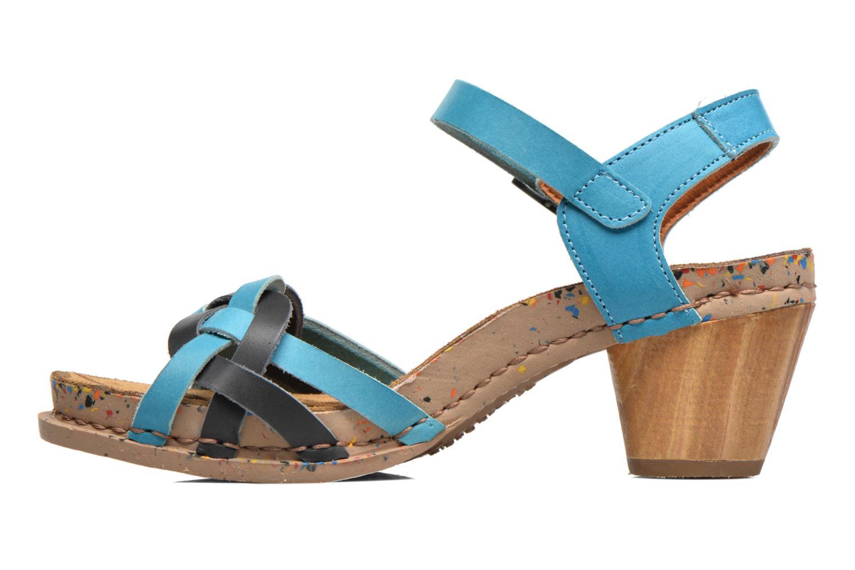 Sandales et nu-pieds Art I Laugh 1110 Bleu vue face