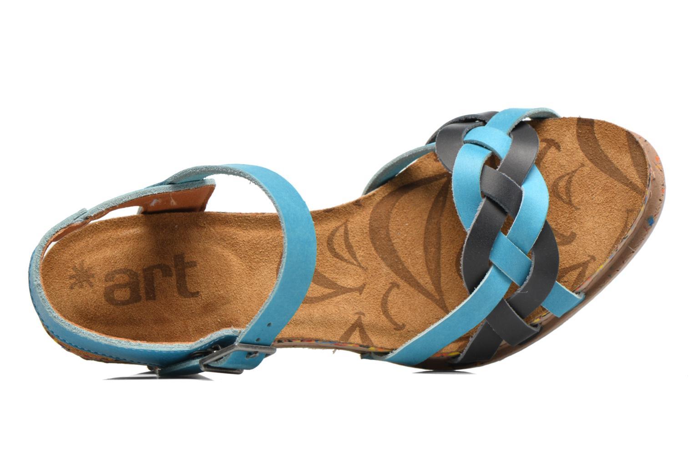 Sandales et nu-pieds Art I Laugh 1110 Bleu vue gauche