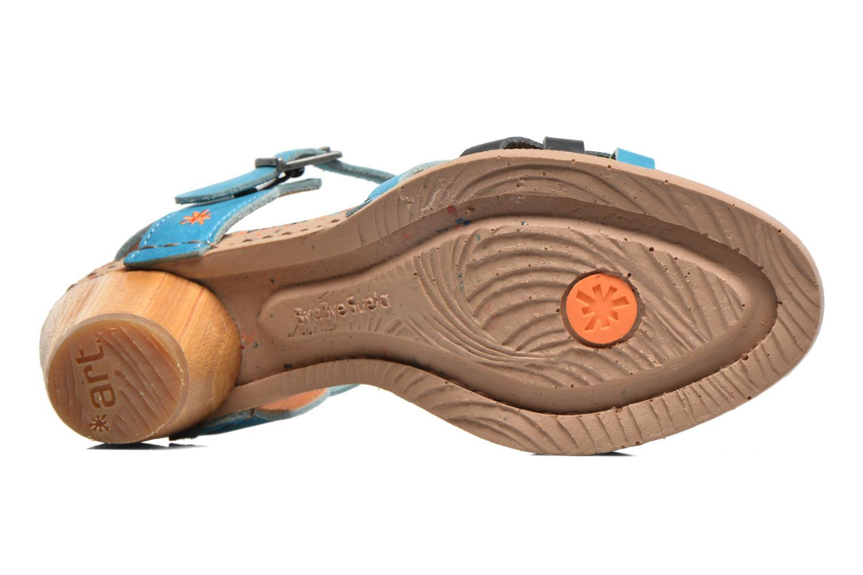 Sandales et nu-pieds Art I Laugh 1110 Bleu vue haut