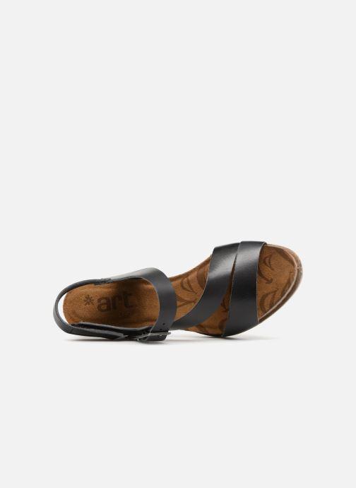 Sandalen Art I Laugh 1111 schwarz ansicht von links